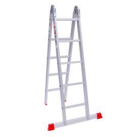نردبان 10 پله آلومنیومی مدل هارمونی پارس پله
