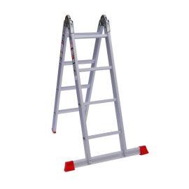 نردبان 8 پله آلومنیومی مدل هارمونی پارس پله