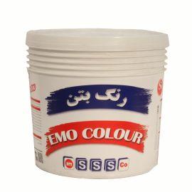 رنگ بتن اموکالر سفید شیمی ساختمان