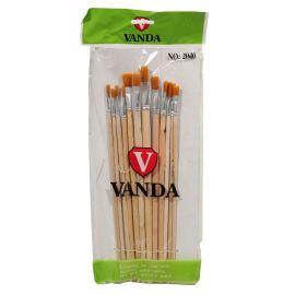 ست قلمو با موی سمور وندا